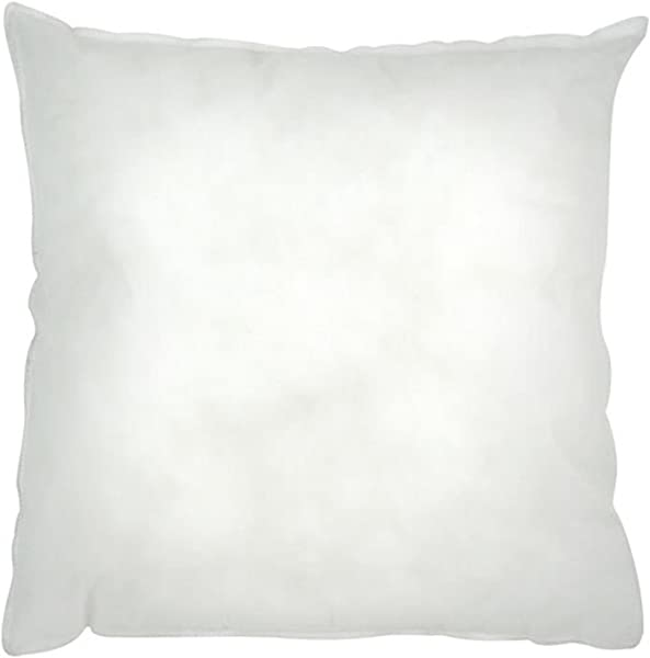 Riva Home Polyester Cushion Pad 16 X 24 Inch White