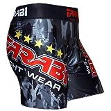 MMA vale tudo pantaloncini da combattimento per allenamento Farabi MMA Boxe Kickboxing Muay Thai Mix Arti Marziali Gabbia Lotta Grappling Training Gym Abbigliamento Pantaloncini Trunks