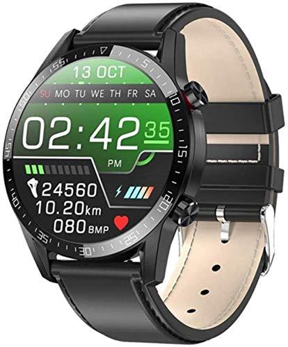 Reloj inteligente ECG + PPG Frecuencia Cardíaca IP68 Impermeable Bluetooth Llamada Smartwatch para hombre y mujer-B