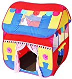 Homecute Foldable Pop Up Hut Type Kids Toy Play Tent House - Multi Colour