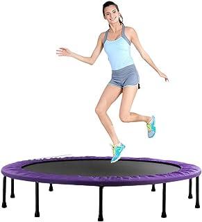 POETRY 60 vikbar studsmatta mini för inomhus fitness studs trampolin för barn vuxna utomhus träningsutrustning aerobic (fä...