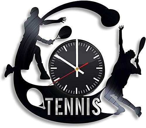 CHENWN Tennis Orologio da Parete in Vinile, Orologio da Parete in Vinile Orologio da Parete per Soggiorno Idee Regalo Beedroom per Lui e per lei