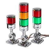 12-24V LED Stack Tower Lights, Industrial Warning Lights, Andon Lights, Column Signal Towe...