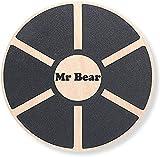 MR Bear Balance Board, tavola da allenamento con un diametro di 40 cm, per il fitness, per lo sport, per le performance, la coordinazione e la forza
