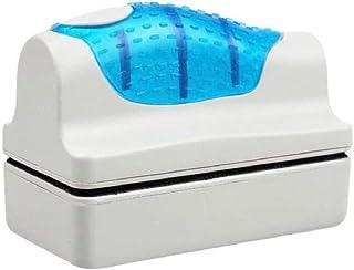 Snner 水槽磁力ブラシ 水族館グラス用ブラシ 水槽 掃除 金魚鉢クリーン コケ取り ガラスクリーナー 水槽表面汚れ・水槽内廃棄物掃除可 6.5*3.5cm