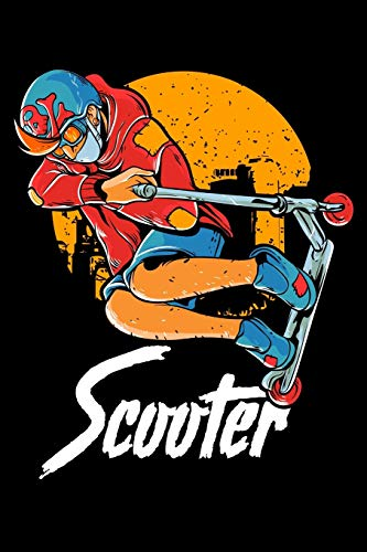 Scooter: Cute & Funny Scooter Kid Riding Tricks Blank Composition Notebook for Journaling & Writing (120 Lined Pages, 6' x 9')