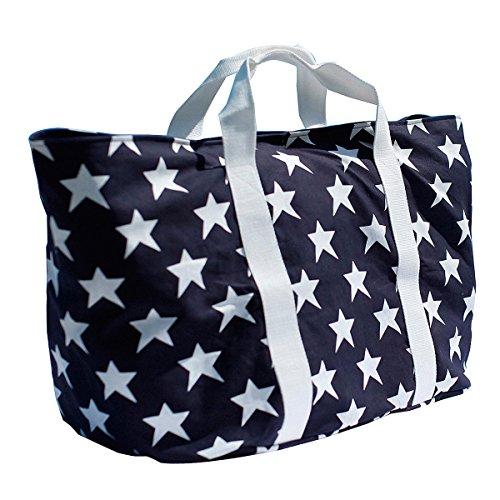 Bondi Beach extragroße XXL Strandtasche/Badetasche mit Reißverschluss & herausnehmbarer Innentasche - perfekt für Familien