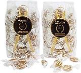 500 gr (PACK 2 BOLSAS x 250 gr) - Miellet - Miel & Almendras - Caramelos artesanales con miel de origen español. Suaviza la garganta, evita la tos y contiene propiedades antisépticas. SIN GLUTEN