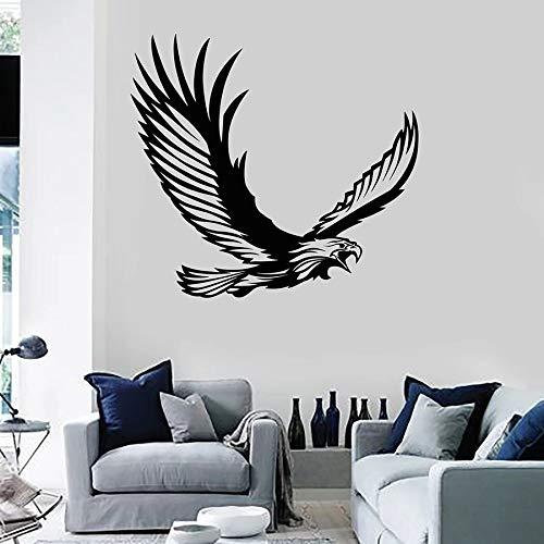 yaonuli Wandtattoo Tribal Outfit adelaar stuurwiel vogel roofdier vinyl sticker wanddecoratie slaapkamer