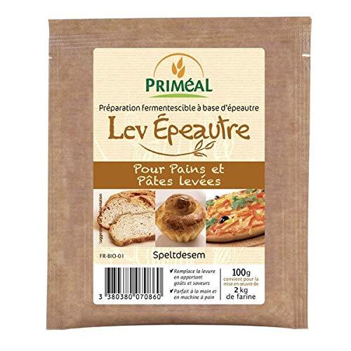 Priméal Lev 'Epeautre Levure de Boulanger - Bio - 100 g