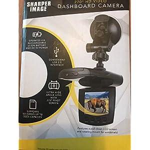 Sharper Image Dashboard Camera 270 Degree HD Video
