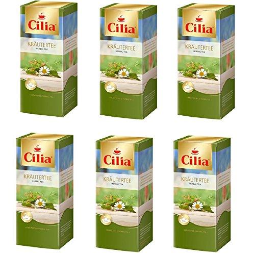 Melitta Cilia Tee Kräutertee 6 Packungen je 25 x 1,8g Teebeutel
