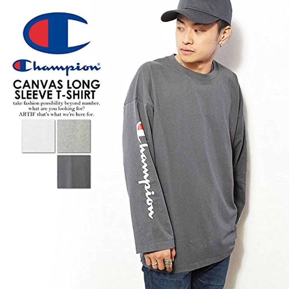 麺ペア無許可(チャンピオン) CHAMPION CAMVAS LONG SLEEVET-SHIRT c3-l415