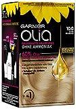 Garnier Olia Haar Coloration Extra Hellblond 10.0 / Färbung für Haare enthält 60% Blumen-Öle...