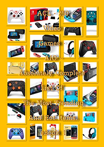 ACL – 250 Nintendo Switch – Fortnites & Screen Protectors –...