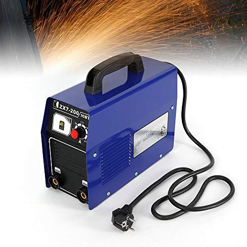YIYIBY Soldadora eléctrica profesional con electrodos, inversor DC 120 A, ZX7-200 MMA...