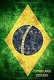 Brasilien Terminplaner 2020 2021: Brasil Kalender und Terminkalender 2020 2021 - Monatsplaner, Urlaubplaner und Wochenplaner | Januar 2020 bis Dezember 2021 | Geschenk für Brasilianer