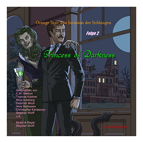 Princess of Darkness audiobook cover art