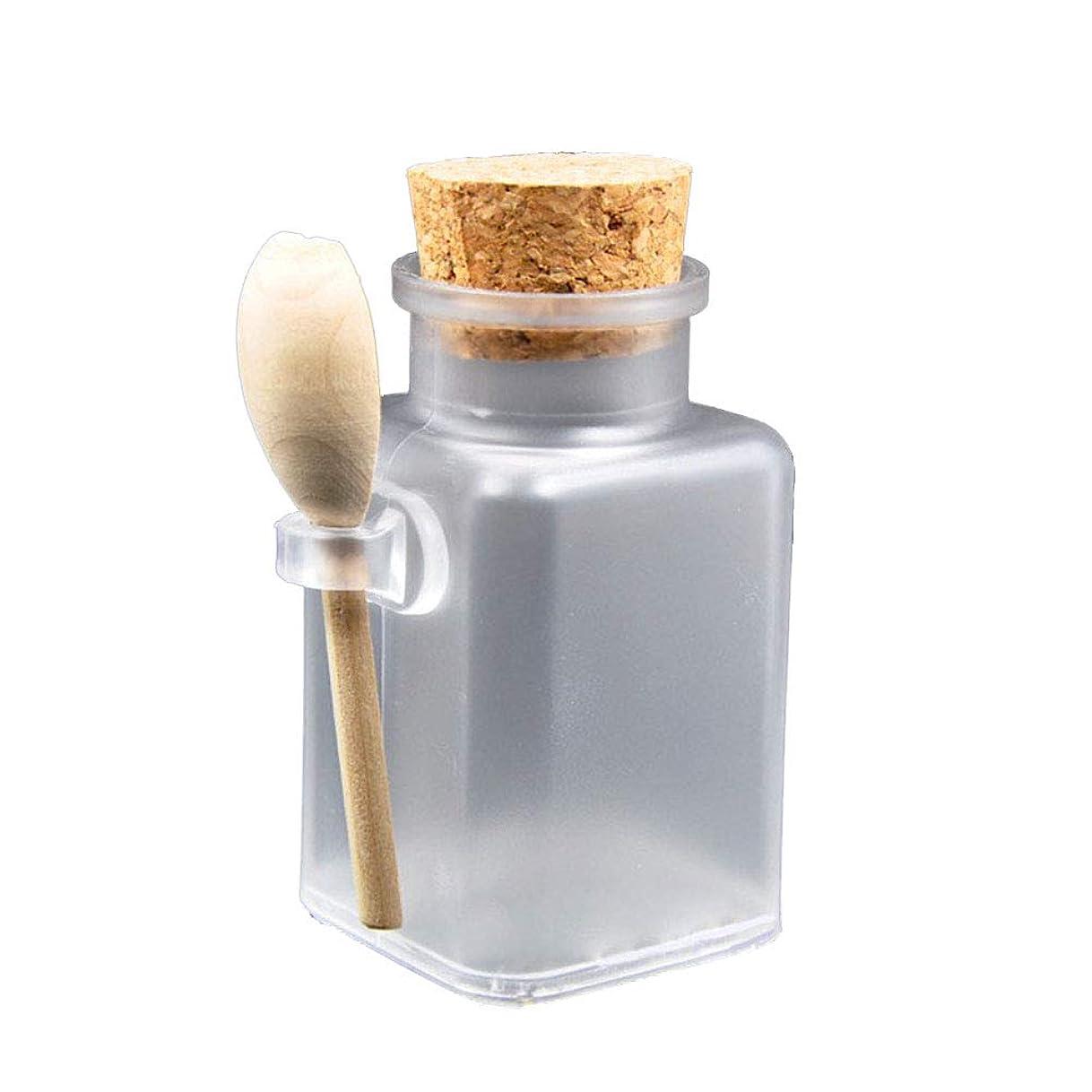 チャンピオンベンチ少数Healifty スパイスボトル ペットボトル マスクパウダーボトル 小分け容器 塩 調味料 日常生活用(コルク栓付き)