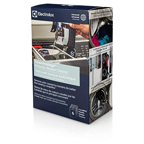 Electrolux 10ELPROL02 PureAdvantage Probiotic Washer Cleaner Deodorizer and Descaler, 6 Treatments, One Size