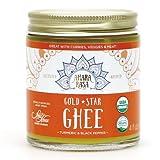 <常温>米国産 アハラ ラーサ ギー/ゴールドスターギー 4oz Ghee グラスフェッドギーバター (有機発酵無塩バター由来バターオイル) チャーン製法