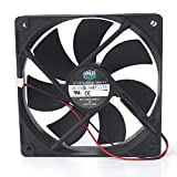 Cooling Fan A12025-12CB-3BN-F1 12025,Server Cooler Fan A12025-12CB-3BN-F1 12025 12V 0.16A, Chassis Cooling Fan for 12CM 2-Wire