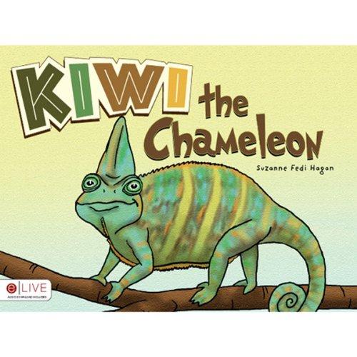 Kiwi the Chameleon audiobook cover art