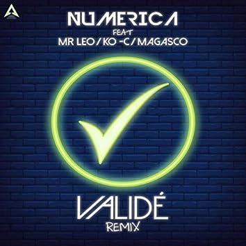 Validé (feat. Mr Leo, Ko-c, Magasco) [Remix]