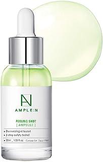 (Peeling Shot Ampoule 30ml) - [AMPLE:N] Peeling Shot Ampoule 1.01 fl. oz. (30ml) - AHA, BHA, PHA Peeling Care for Troubled...