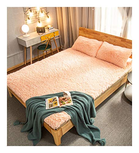 XZ15 Mattress Keep Warm Thicken Student Dorm Room Single Double (Color : LIGHT JADE, Size : 120X200CM)