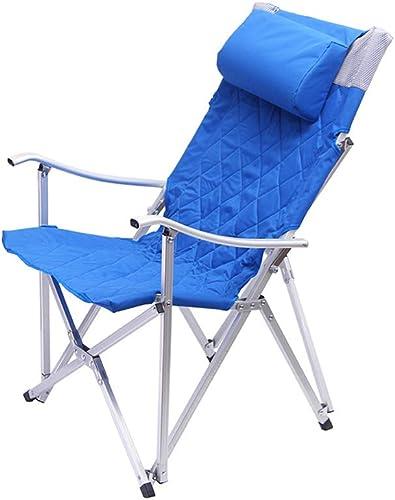 Hxx Chaises de Camping Pliables Structure Lourde et Confortable Capacité de Charge maximale 150 kg pour Le Patio Sportif Touring Pique-Nique Randonnée Pêche Camping en Plein air événements,A