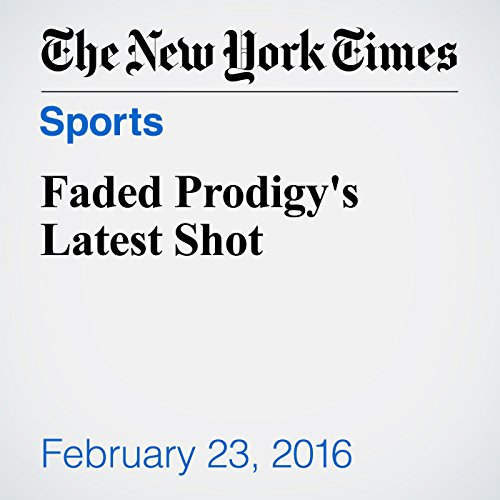 Faded Prodigy's Latest Shot audiobook cover art