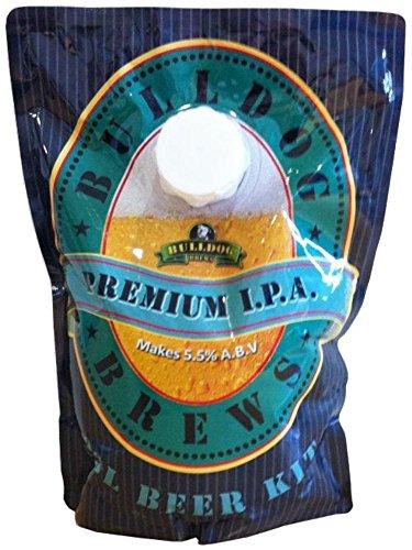BULLDOG SECURITY Kit para Hacer Cerveza Premium IPA