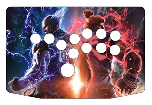 JINZHIYANG RAC-J500B Alle Tasten HITBOX Style Arcade Joystick Fight StaBe Game CONTROLLE GRATIONSPLATT Platz FIT FÜR PC USB (Color : Artwork 6)