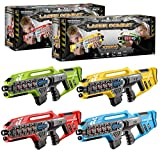 ToyStar Laser Tag Combat X-1000, Multiplayer Infrared Gun Battle Game, Bumper 4 Rifle