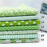 Clothink Baumwollstoff, Quadrate zum Nähen, Patchwork, vorgeschnittene Nähen, Scrapbooking 50x50cm...