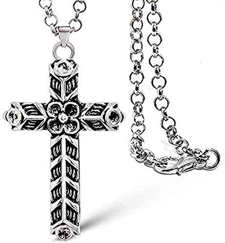 WSBDZYR Co.,ltd Necklace Fashion Athelstan S Cross Necklace Ragnar Indian Jewelry Men Women Pendant L Chain Teen Unisex Antique for Women Men Gifts