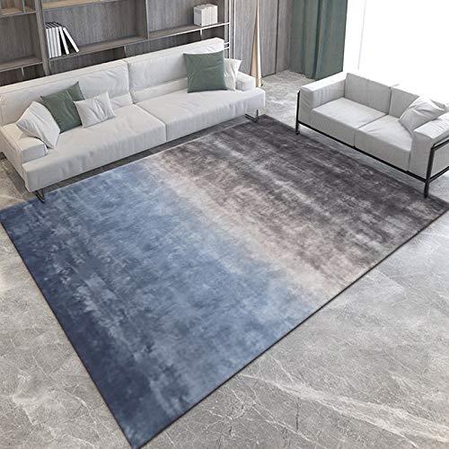 NF Alfombra grande, diseño geométrico 3D nórdico, alfombra para sala de estar, dormitorio, alfombra de área, lavable, alfombra de sofá, baño, antideslizante, alfombra pequeña, 80 x 120 cm