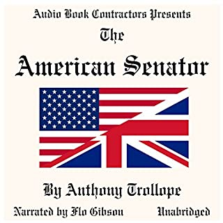 The American Senator audiobook cover art