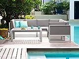 Zoom IMG-1 beliani set da esterno divano