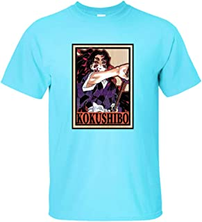 Kimetsu no Yaiba Camiseta Kamado Nezuko Tops Kamado Tanjirou Camisetas Hombres Cómic Estilo Camiseta Unisexo Anime Impresi...