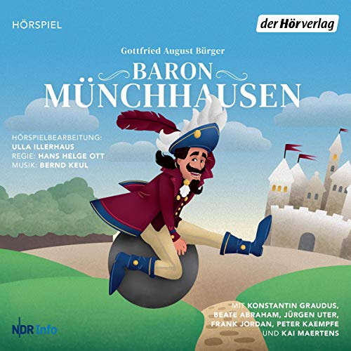 Baron Münchhausen audiobook cover art