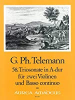 TELEMANN - Trio Sonata en La Mayor (TWV:42/a11) para 2 Violines y Piano (Pauler/Hess)