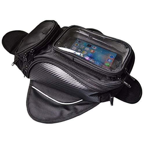 Noblik Bolsa del Tanque de Gasolina del Gasóleo de La Motocicleta Mochila Impermeable Y Bolsa del Tanque de La Motocicleta Magnética para Yamah