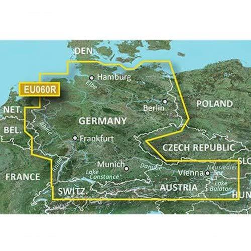 Garmin BlueChart g3 Seekarte Region Europa, Abdeckungsbereich HXEU060R - Deutsche Binnengewässer, Kartengröße Regular