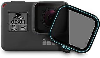 Telesin CPL Filtre 1paket objektif filtre CPL-kamera objektif Ekran Koruyucu Folyo dairesel polarize filtre ile objektif kapağı için GoPro Hero 6Hero 5(CPL)