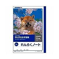キョクトウ かんがえる学習帳 れんらくノート 9行 A501 『 2冊 』