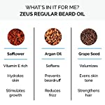 ZEUS 1oz Beard Oil, USA MADE, All-Natural Vegan Beard Conditioning Oil, Moisturizes, Softens, Non-Greasy & Reduces Itch… 4