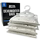4 Pack Boat Dehumidifier Moisture Absorber Hanging Bags...