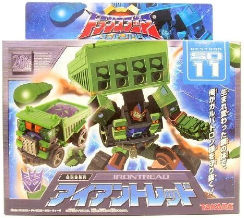 los nuevos estilos calientes Transformers súper Link Link Link SD-11 Iron tread (japan import)  barato y de alta calidad